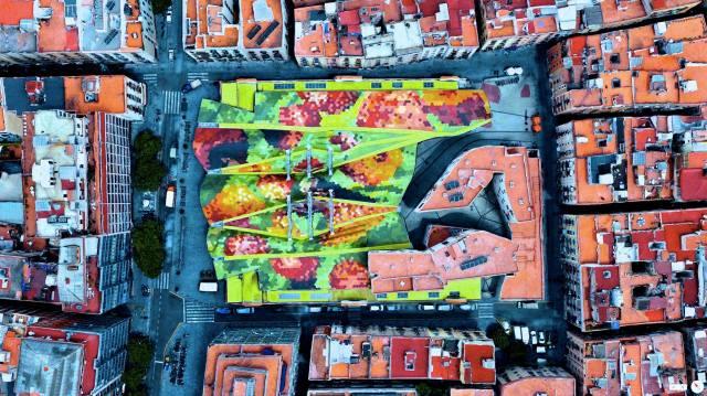 Santa Caterina Market - Barcelona, Spain
